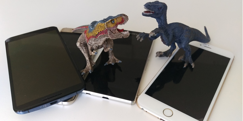 stor skærm stor mobil