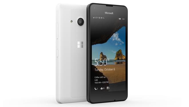 lumia 550 test anmeldelse pris