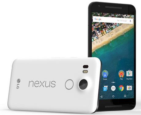 Den bedste pris for Nexus 5X - her får du den billig
