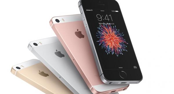 iPhone SE populære mobiltelefoner