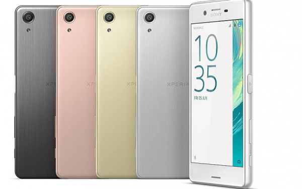xperia x perfomance mobil med bedste batteritid